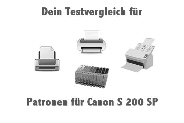 Patronen für Canon S 200 SP