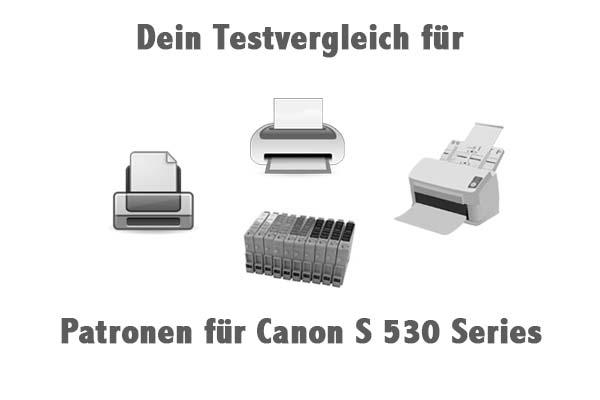 Patronen für Canon S 530 Series