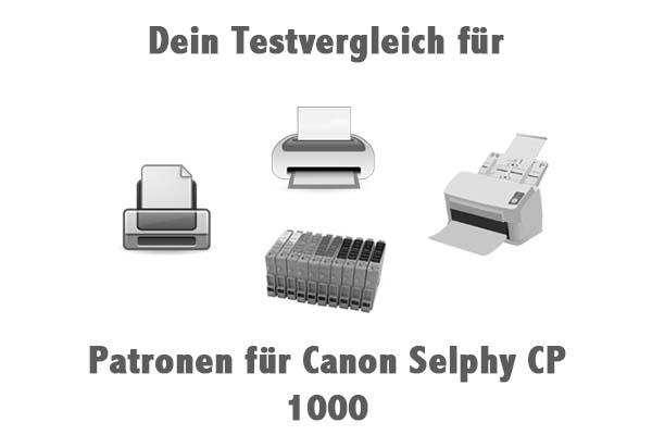 Patronen für Canon Selphy CP 1000