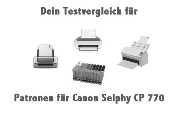Patronen für Canon Selphy CP 770