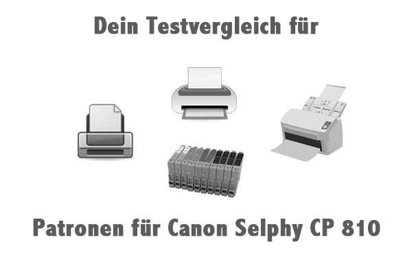 Patronen für Canon Selphy CP 810