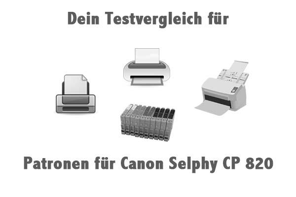 Patronen für Canon Selphy CP 820