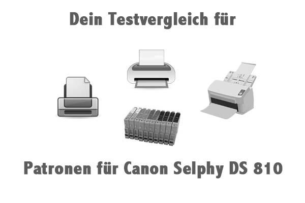 Patronen für Canon Selphy DS 810