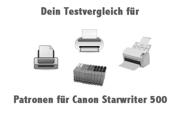 Patronen für Canon Starwriter 500