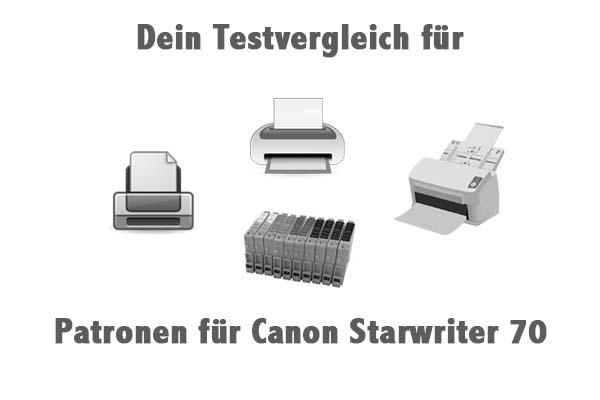 Patronen für Canon Starwriter 70