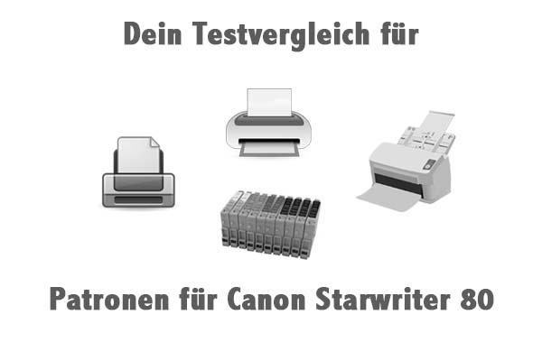 Patronen für Canon Starwriter 80