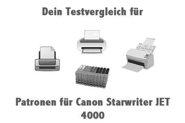 Patronen für Canon Starwriter JET 4000