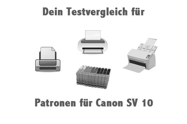 Patronen für Canon SV 10