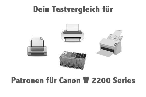Patronen für Canon W 2200 Series