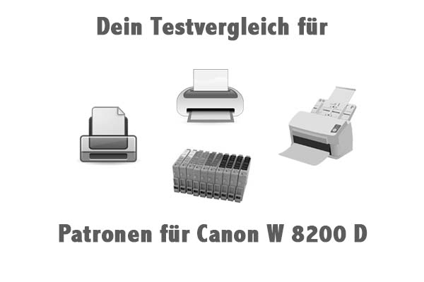 Patronen für Canon W 8200 D