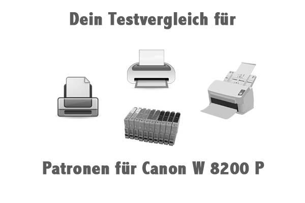 Patronen für Canon W 8200 P