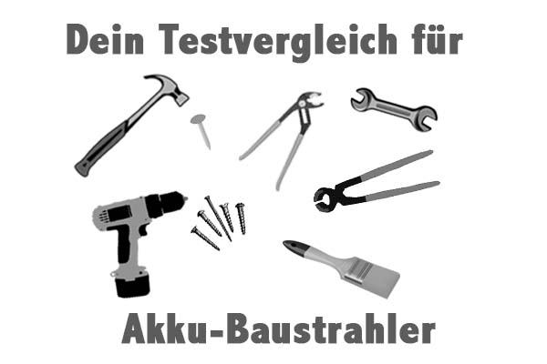 Akku-Baustrahler