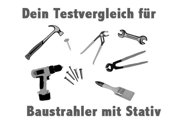 Baustrahler mit Stativ