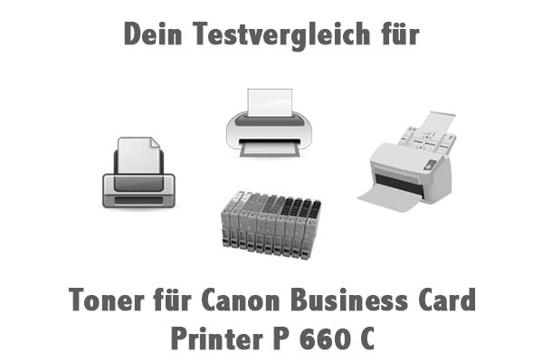 Toner für Canon Business Card Printer P 660 C
