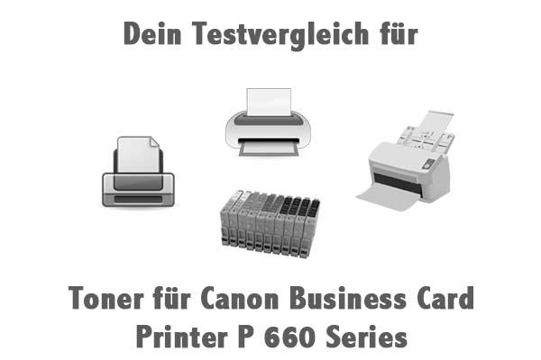 Toner für Canon Business Card Printer P 660 Series