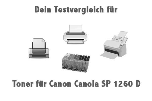 Toner für Canon Canola SP 1260 D
