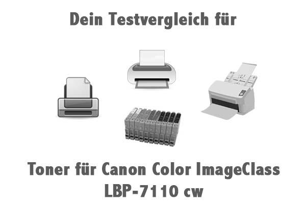 Toner für Canon Color ImageClass LBP-7110 cw