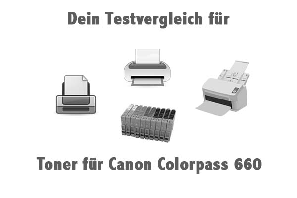 Toner für Canon Colorpass 660