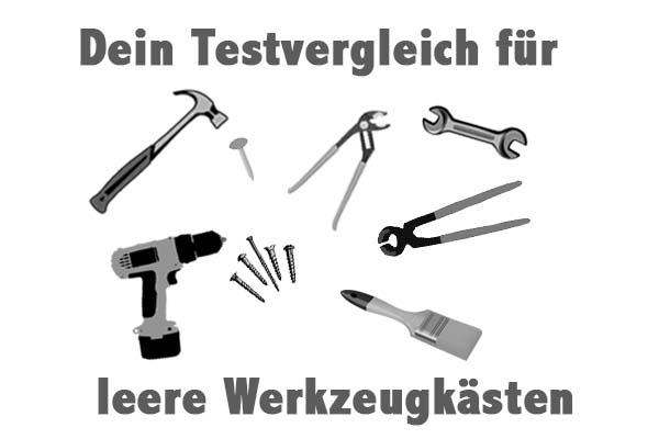 leere Werkzeugkästen