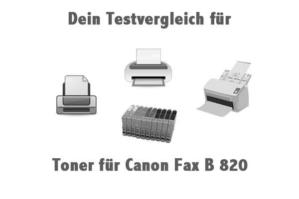 Toner für Canon Fax B 820