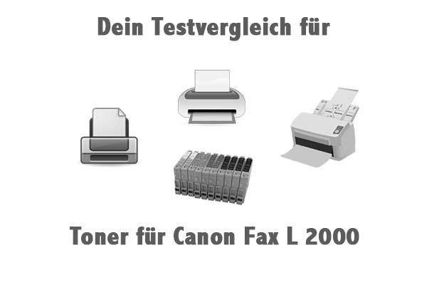 Toner für Canon Fax L 2000