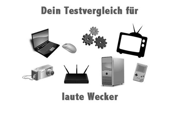 laute Wecker