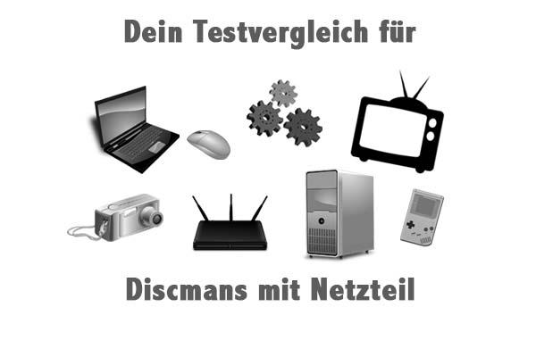 Discmans mit Netzteil