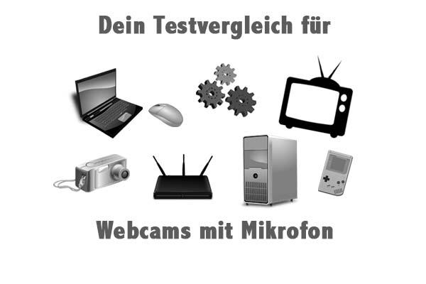 Webcams mit Mikrofon