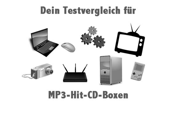 MP3-Hit-CD-Boxen