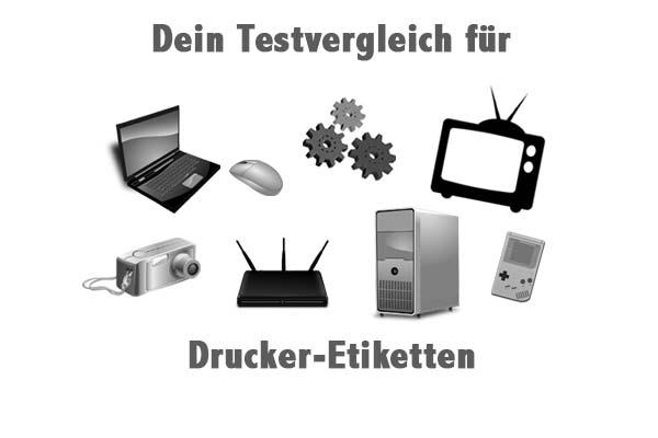 Drucker-Etiketten
