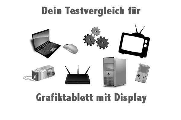 Grafiktablett mit Display