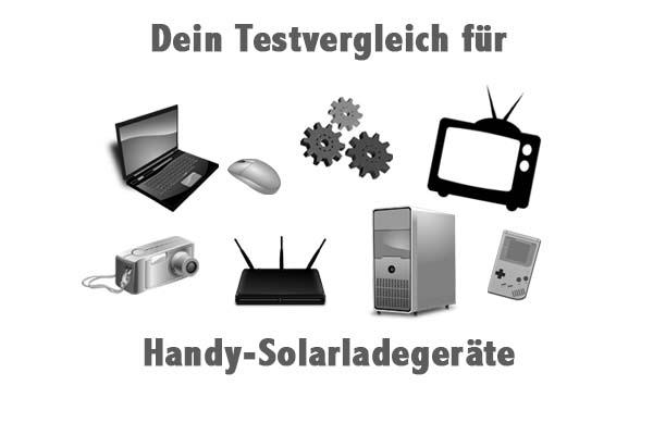 Handy-Solarladegeräte