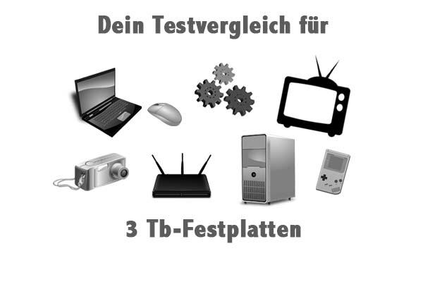3 Tb-Festplatten