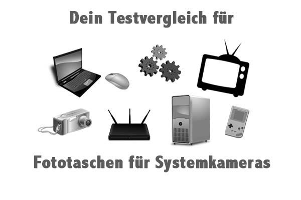 Fototaschen für Systemkameras