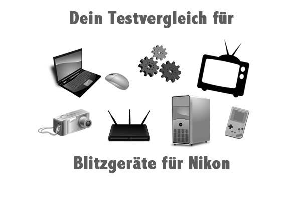 Blitzgeräte für Nikon