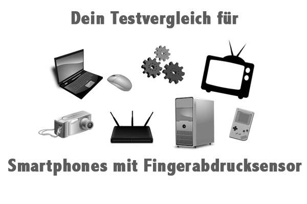 Smartphones mit Fingerabdrucksensor